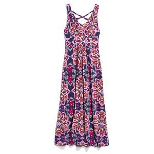 Loveappella Lauryn Knit Maxi Dress